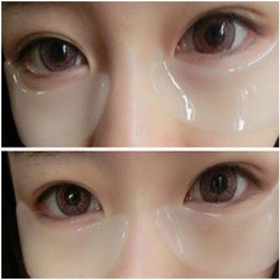 正品胶原蛋白眼膜贴淡化祛除黑眼圈眼袋细纹视疲劳去脂肪粒眼贴膜