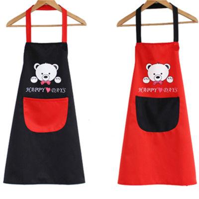 【多色多款可选】情侣围裙防水厨房韩版时尚可爱成人男女无袖罩衣